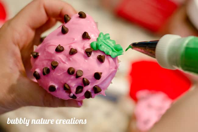 strawberry cupcakes 3