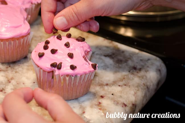 strawberry cupcakes 4