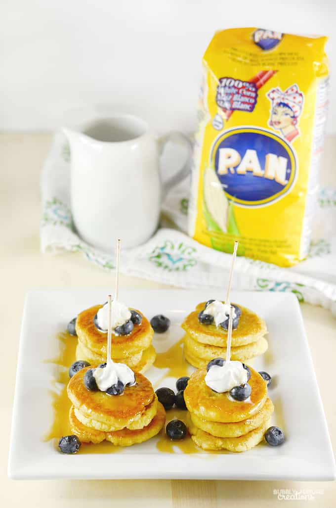 ... Stackers with Caramel Sauce and Blueberries - Sprinkle Some Fun