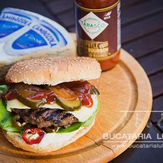 hamburger din carne de cangur