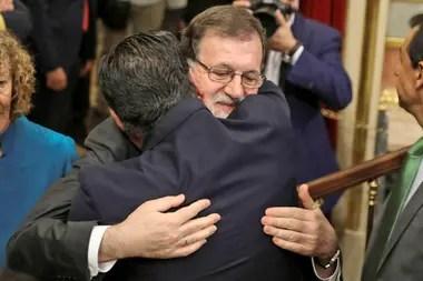 Mariano Rajoy se despidió del Gobierno español