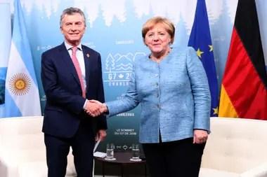 Reunión con la canciller de Alemania, Angela Merkel