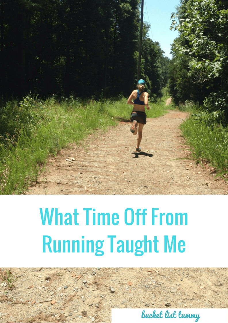 What two weeks off from running taught me (1)