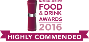 food and drink logo_BUCKS-2016_highly commended