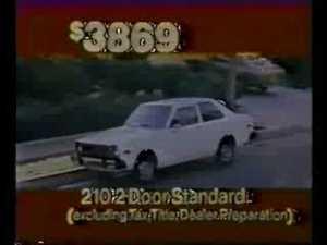 1979 Tampa Bay Buccaneer Car Commercial