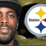 "A struggling Mike Vick gets help from injured ""Big Ben"""