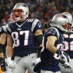 Gronk suffered Knee injury vs Denver