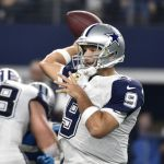 Tony Romo injured again. This time its season ending.