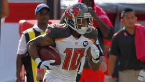 Former Buccaneers WR Robert Herron was signed by Oakland
