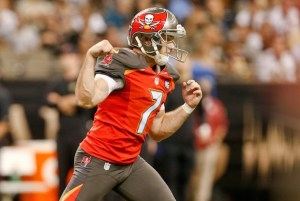 The Bucs waived kicker Patrick Murray