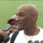 Aqib Talib practices for the first time since shooting incident