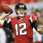 Bucs sign former Falcons OL and QB to future contracts.