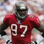 Simeon Rice works with Bucs defensive ends