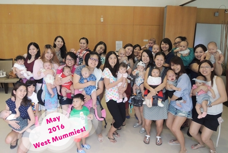 CBB's first mass playdate with May babies