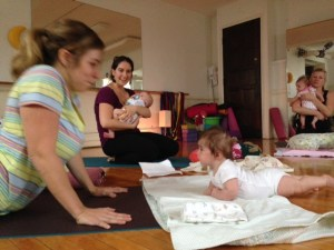 Mommy & Me - Baby Yoga