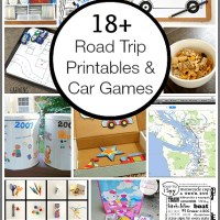 Road Trip Printables and Car Games for Kids