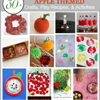 30 Apple Crafts, Play Recipes, and Activities for Kids