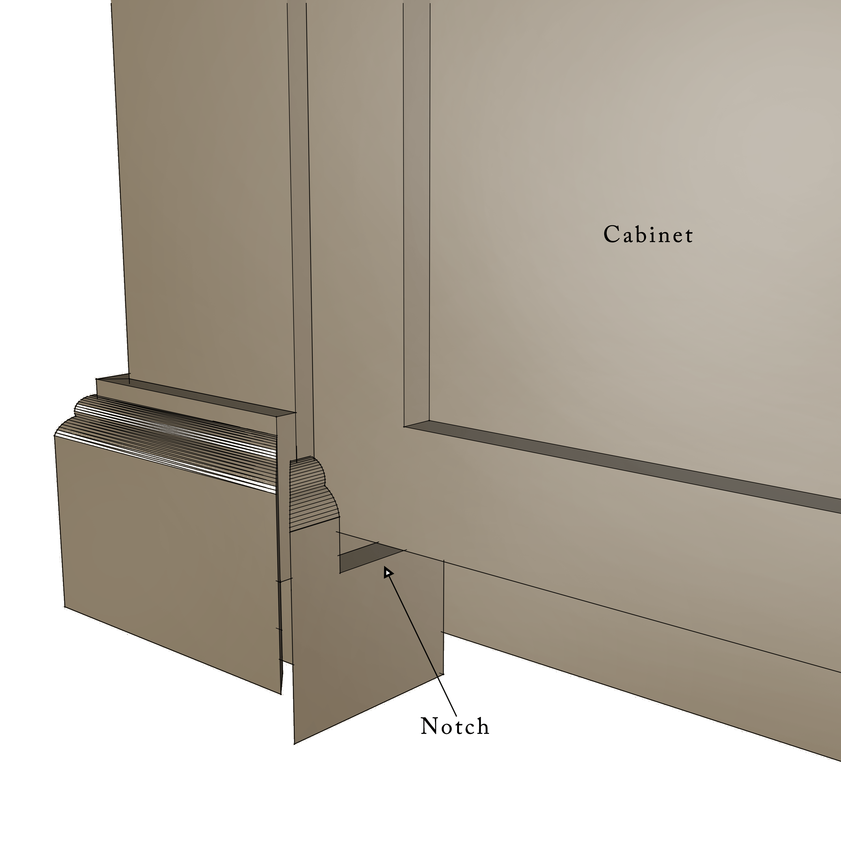 build a diy kitchen island 2 kitchen island cabinets Kitchen Island Drawing Step 30