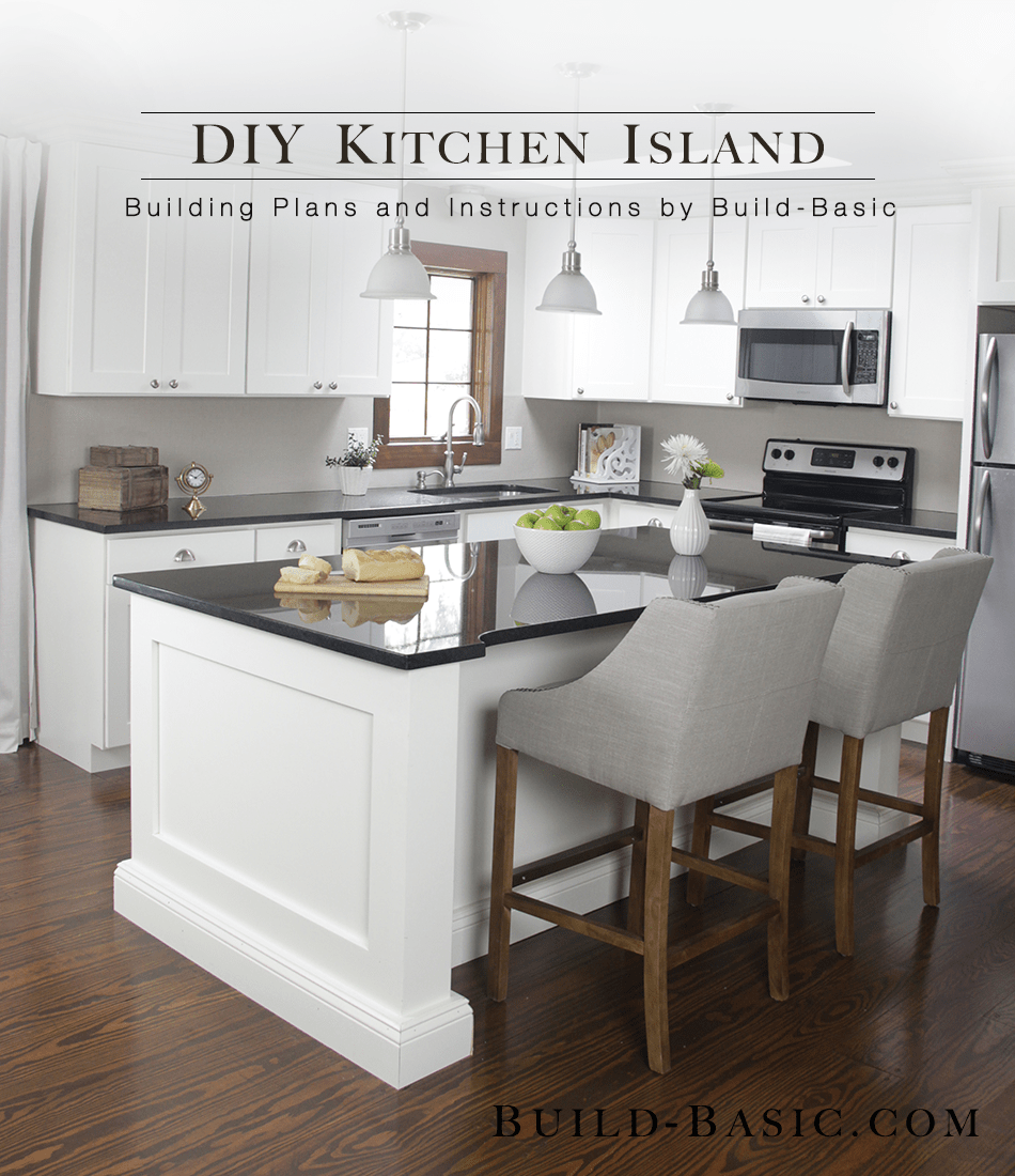 build a diy kitchen island 2 kitchen island cabinets