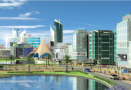 Artists impression of the proposed Konza City
