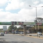 Concrete footbridge along Mbagathi Way
