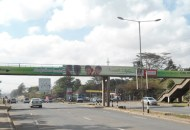 Concrete footbridge along Mbagathi Way