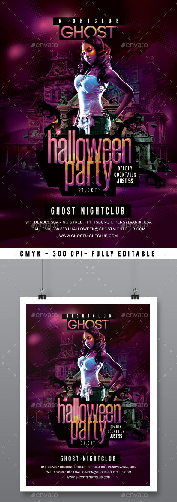 Halloween Party by N2n44 (Halloween party flyer)