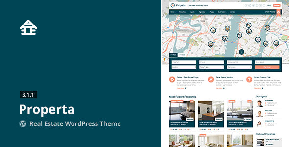 Properta by Aviators (real estate and realtor WordPress theme)