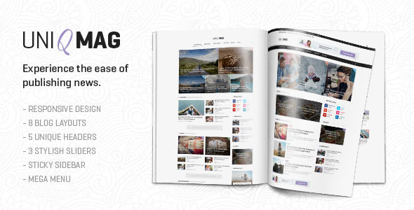 UniqMag by Different-themes (magazine WordPress theme)