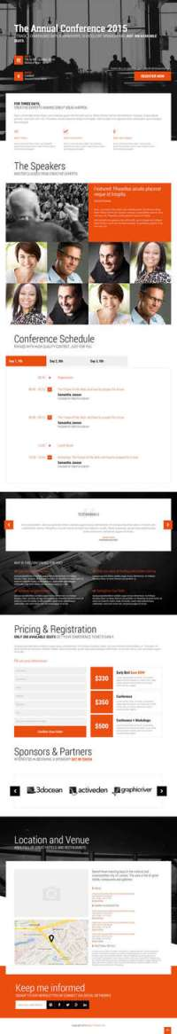 Event - Conference - Event WordPress Theme