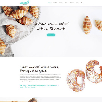 Chateau (WordPress theme for restaurants) Item Picture