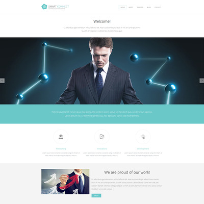 Communications Responsive Joomla Template (Joomla template for internet providers and communications companies) Item Picture
