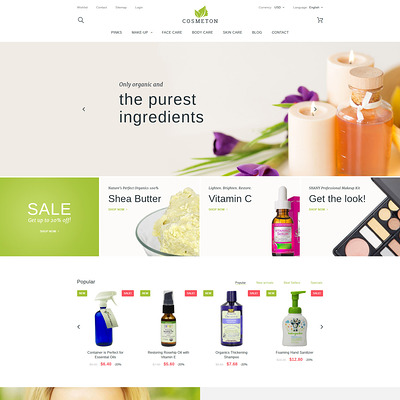 Cosmeton (PrestaShop theme for makeup, cosmetics, perfume, and beauty products) Item Picture