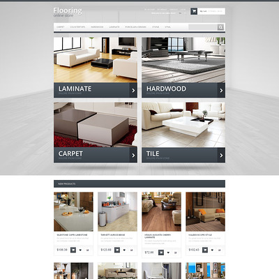 Durable Flooring Magento Theme (Magento theme for flooring stores) Item Picture