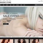 best magento themes selling lingerie underwear feature