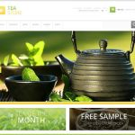 best magento themes tea coffee stores feature