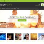 best opencart themes stock photography store feature