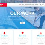 best wordpress themes for pool cleaning companies services feature