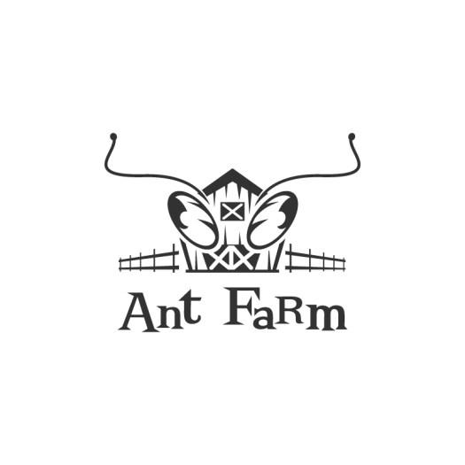 Antfarm Logo - white