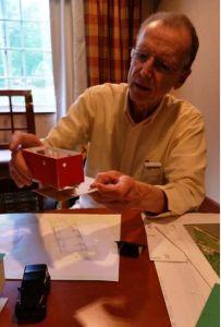 Herman Delong explains his tiny house design.