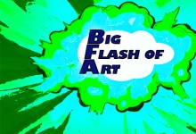 Big Flash of Art mini-exhibits