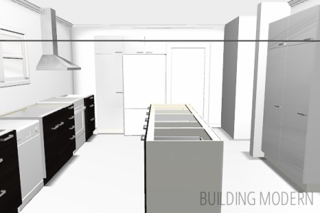 modern kitchen design with the ikea design tool