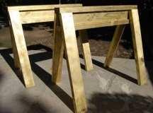 Build Kid-Sized Sawhorses