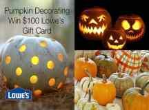 Lowe's Pumpkin Decorating Contest