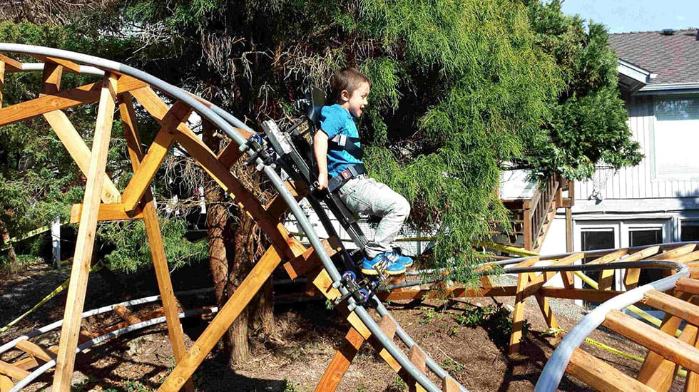 10 Thrilling Backyard Roller Coasters