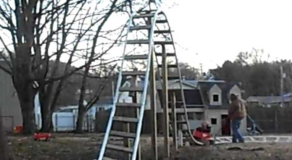 Vintage Backyard Roller Coaster : 10 Thrilling Backyard Roller Coaster Videos