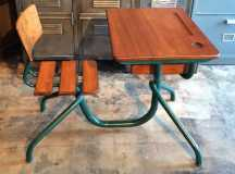 Vintage Kids Desk and Chair