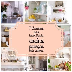 Decoración: 7 cambios para hacer que tu cocina parezca más costosa