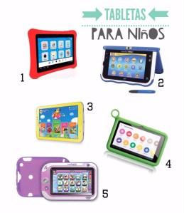 Shopping Guide: Las 5 mejores tabletas para niños