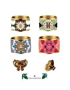1@ con…FLOR AMAZONA: Vibrant Jewelry